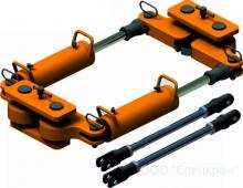 Приспособление стяжное для натяжения рельс ПГНР-100